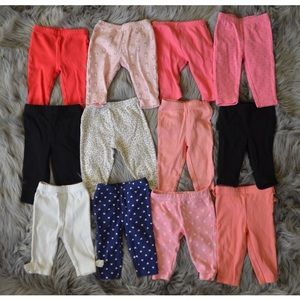Other - Baby Girl Pants Lot 0-3 Months
